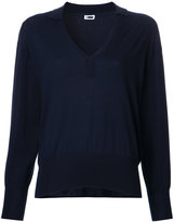 H Beauty&Youth V neck sweatshirt - women - Silk/Cotton - One Size