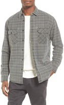 Quiksilver Men's Young Winner Lined Plaid Flannel Shirt