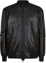 Helmut Lang Armband Leather Jacket