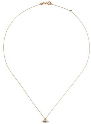 Kismet By Milka 14kt Rose Gold Evil Eye Diamond Pendant Necklace