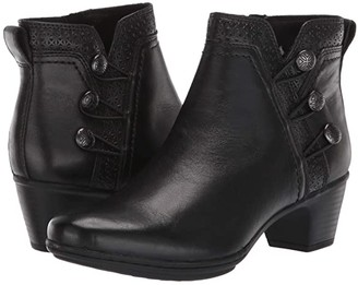 Cobb Hill Kailyn Ankle Boot (Black) Women's Shoes