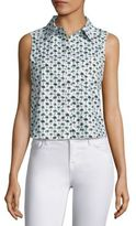 Milly Palm Printed Leah Top