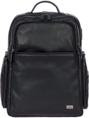 Bric's Torino Men's Large Leather Business Backpack