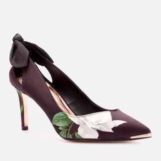 Ted Baker Women's Elaner Elderflower Mid Heel Court Shoes