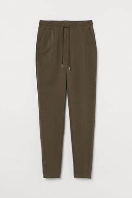 H&M High Waist Sweatpants - Green