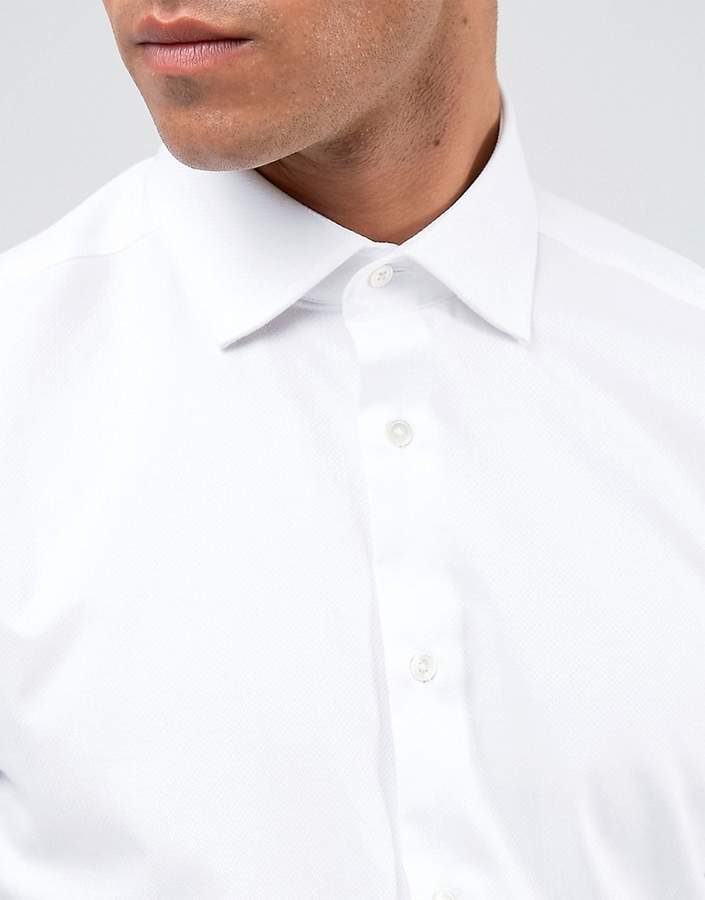 Reiss Regular Smart Shirt With Cutaway Collar