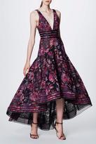 Notte by Marchesa Sleeveless Chiffon Gown