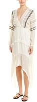 IRO High-Low Maxi Dress