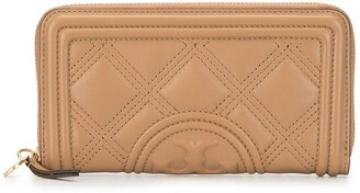 Tory Burch Fleming quilted continental wallet