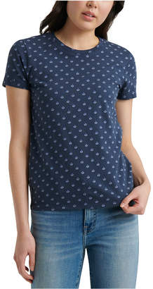 Lucky Brand Printed Crew Neck T-Shirt