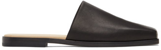 AURALEE Black Foot The Coacher Edition Square Sandals