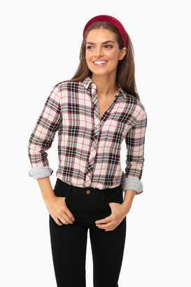 Faherty Juliet Plaid Malibu Shirt