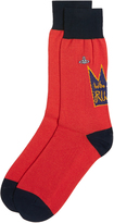 Vivienne Westwood Who Are Our Rulers Red Socks Size UK 7