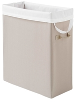 Slim Space-Saving Laundry Hamper
