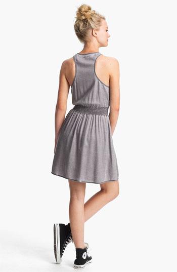 BP Chambray Racerback Dress (Juniors)