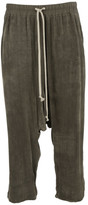 Rick Owens Elasticated Cropped Trousers