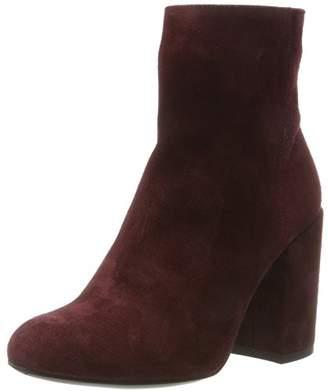 Liebeskind Berlin Women's LH175500 Suede Closed Toe Heels, Red (Gang Wine 3981)