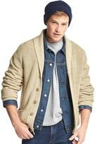 Gap Ribbed shawl collar cardigan