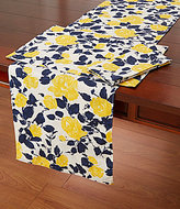 Kate Spade Garden Rose Floral Table Linens
