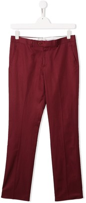 Isaia Kids Tailored Trousers