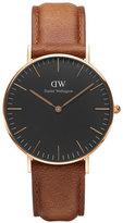 Daniel Wellington 36mm Classic Durham Watch Brown/Black