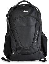 Obersee Oslo Diaper Bag Backpack in Black