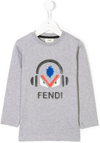 Fendi Music logo patch top
