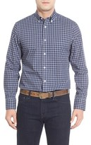 Nordstrom Smartcare TM Mini Plaid Sport Shirt (Tall)