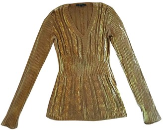 Gucci Gold Cotton Knitwear