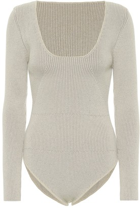 Jacquemus Le Body Adour ribbed-knit bodysuit
