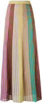 M Missoni metallic knit maxi skirt - women - Cotton/Polyamide/Polyester - 40