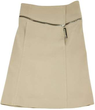 Louis Vuitton Beige Wool Skirts