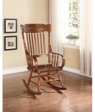 Rosalind Wheeler Delacruz Rocking Chair