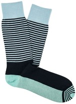 J.Mclaughlin Colorblock Stripe Socks