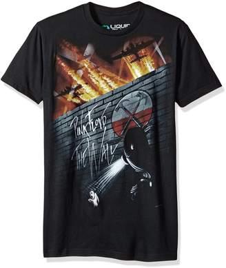 Liquid Blue Unisex-Adult's Pink Floyd Outside The Wall Short Sleeve T-Shirt