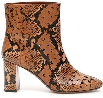 L'Autre Chose Python Print Ankle Boots
