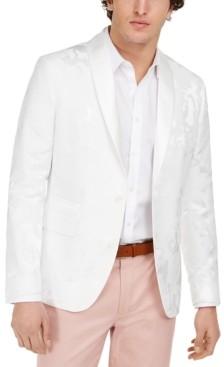 INC International Concepts Inc Men's Slim-Fit Owen Jacquard Blazer, Created for Macy's