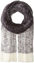 Scotch & Soda Soft Chunky Scarf with Gradient Melange Knit Outlook Scarves