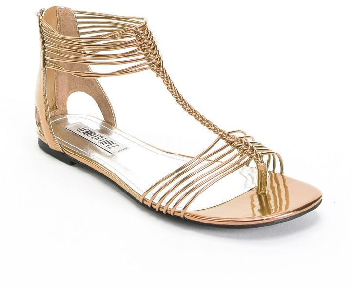 JLO by Jennifer Lopez gladiator sandals - women