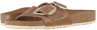 Birkenstock Madrid Big Buckle (Brandy Nubuck) Women's Sandals