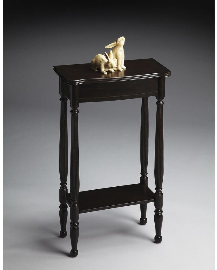 Thumbnail for your product : Butler Whitney Rubbed Black Console Table