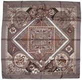 One Kings Lane Vintage Hermès Le Jardin des Coptes Scarf with Box