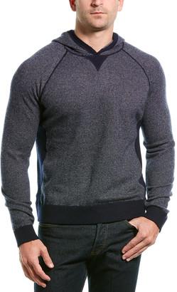 Vince Birdseye Wool & Cashmere-Blend Hoodie