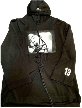 FENTY PUMA by Rihanna Black Cotton Knitwear for Women