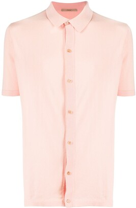 Roberto Collina buttoned short-sleeved T-shirt