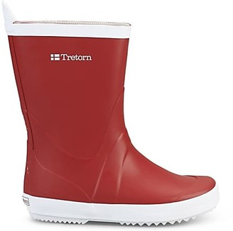 Tretorn Oak Red Wings Rain Boots - 38 | oak | Oak red - Yellow/Yellow