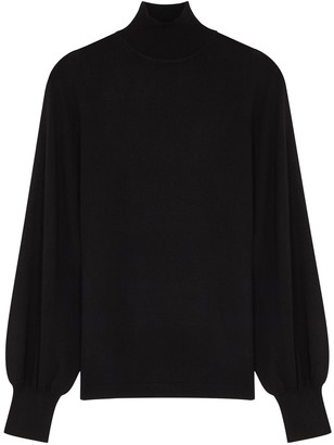 Zimmermann Black Merino Wool Jumper