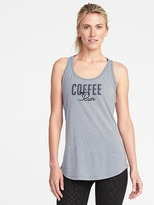Old Navy Go-Dry Graphic Racerback Tank for Women