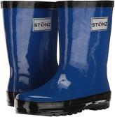 Green & Black Stonz - Rainboots Kids Shoes