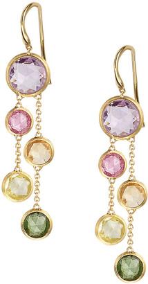 Marco Bicego 18k Jaipur Rainbow Drop Earrings